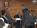Ямболският кмет премира изявени спортисти и треньори