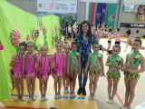 """Гимнастичките на """"Тунджа""""-с отличия в Бургас"""